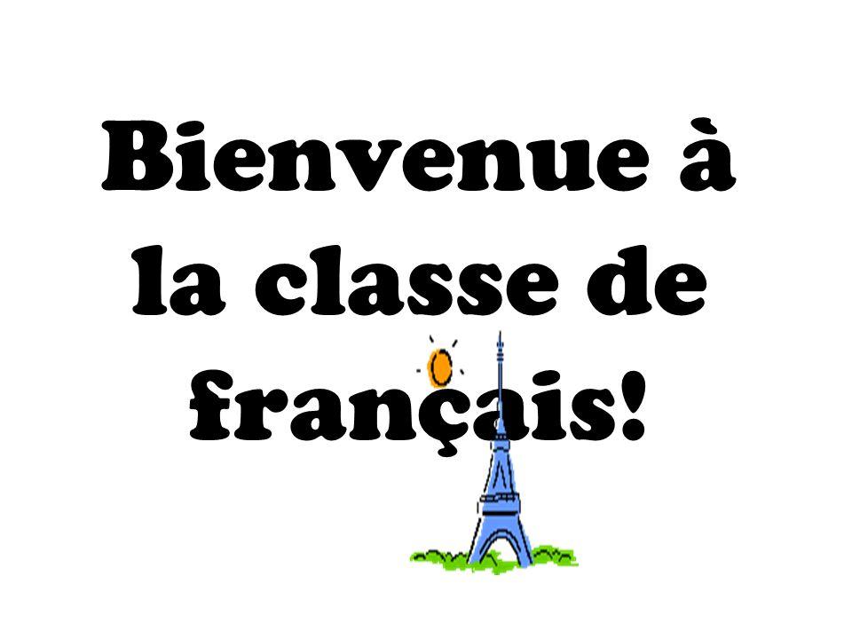 Resultado de imagen para bienvenue a la classe de francais