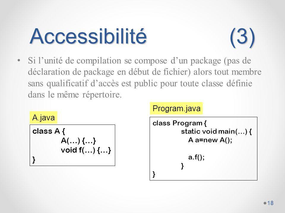 Accessibilité (3)