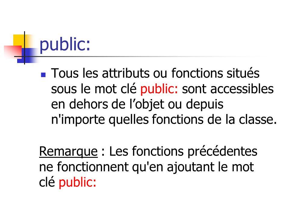 public: