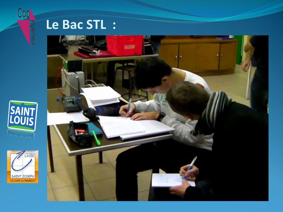 Le Bac STL :