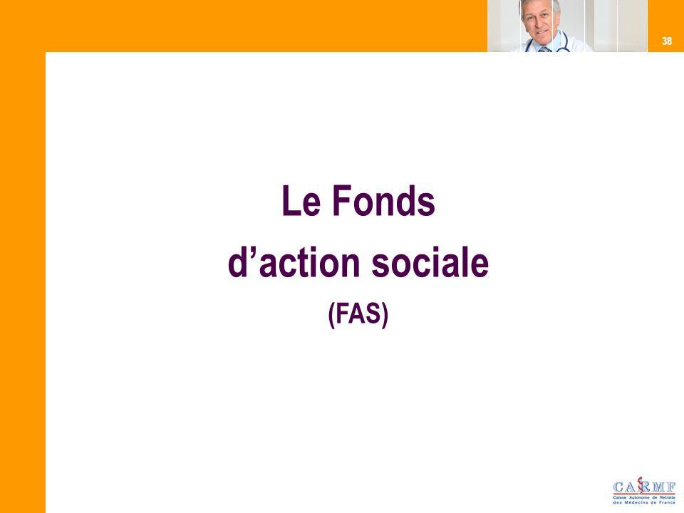 Le Fonds d'action sociale (FAS)