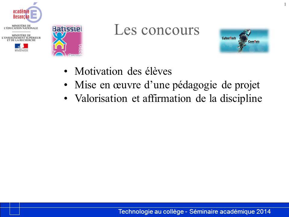 Les concours Motivation des élèves