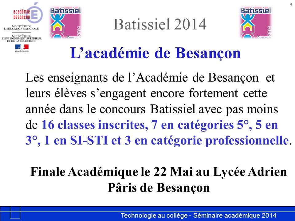 L'académie de Besançon