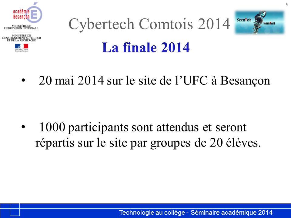 Cybertech Comtois 2014 La finale 2014