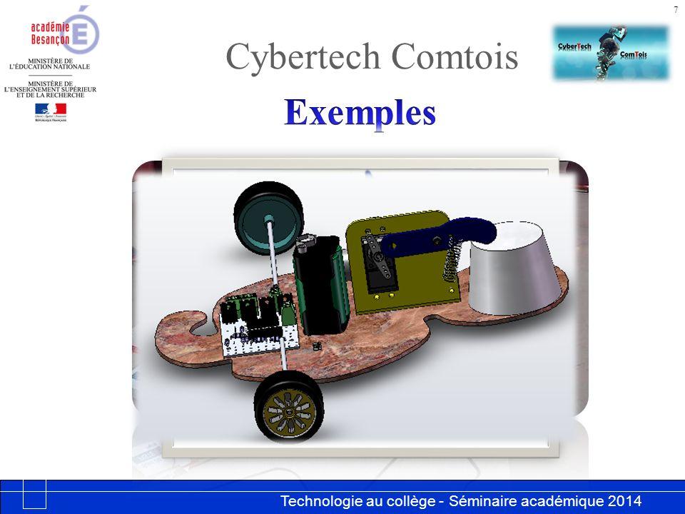 Cybertech Comtois Exemples