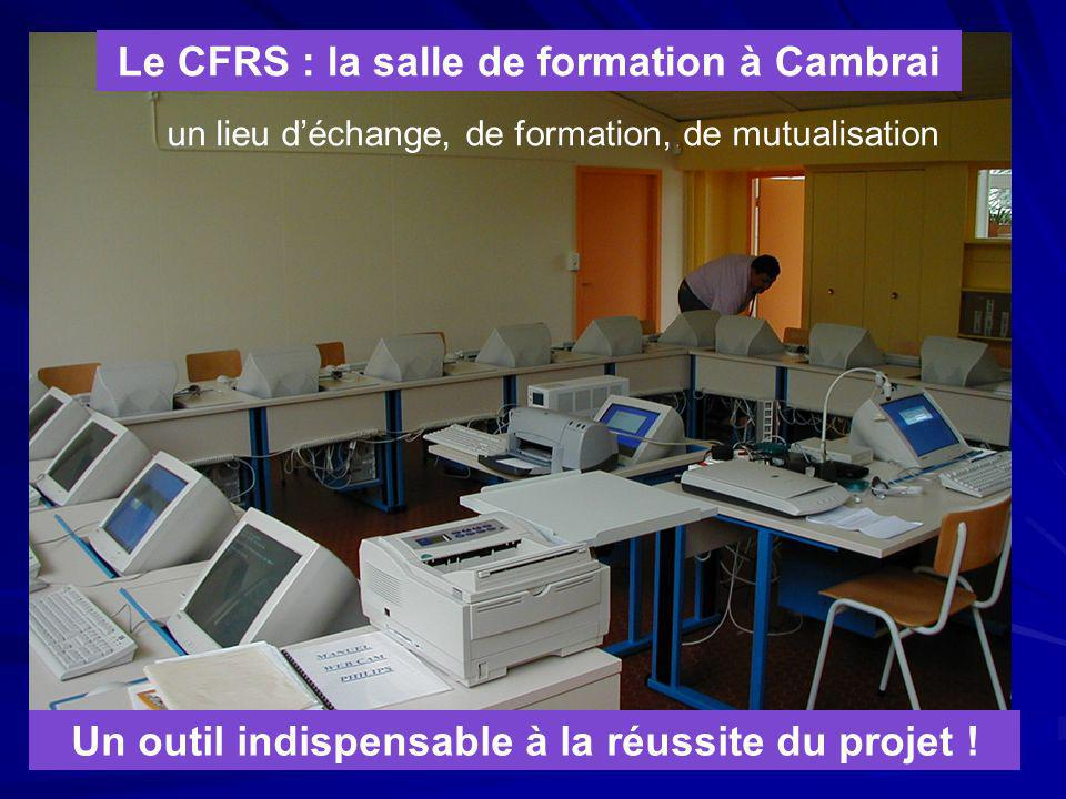 Le CFRS : la salle de formation à Cambrai