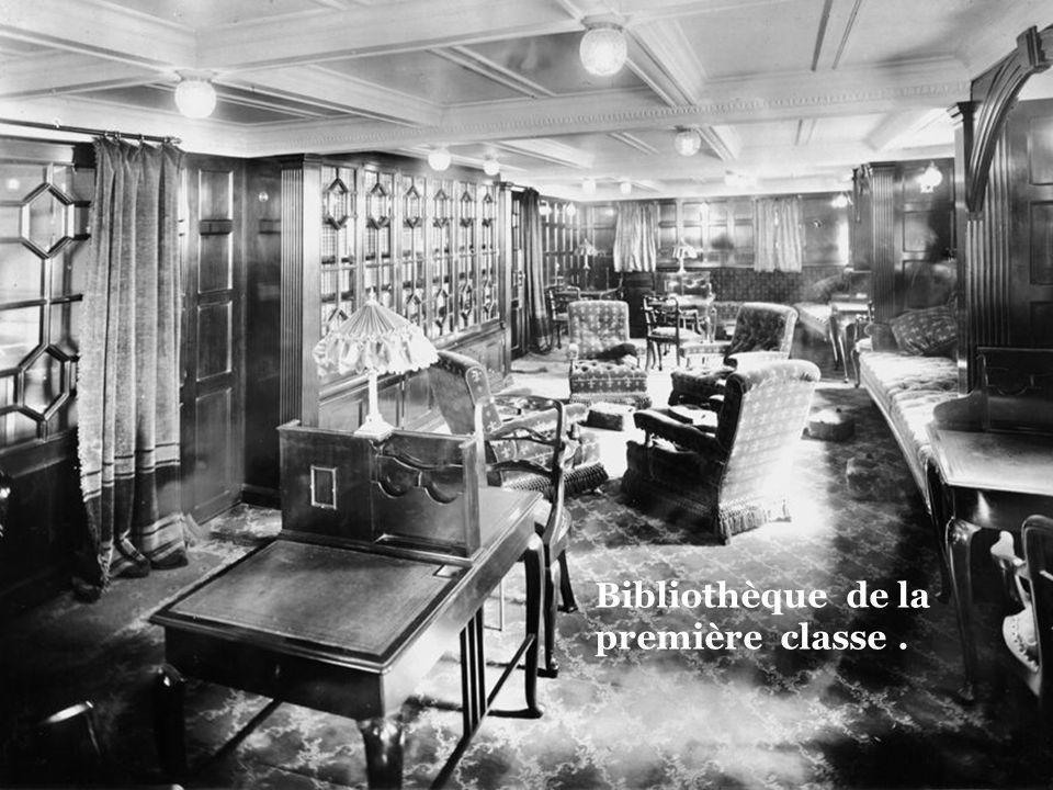 Bibliothèque de la première classe .