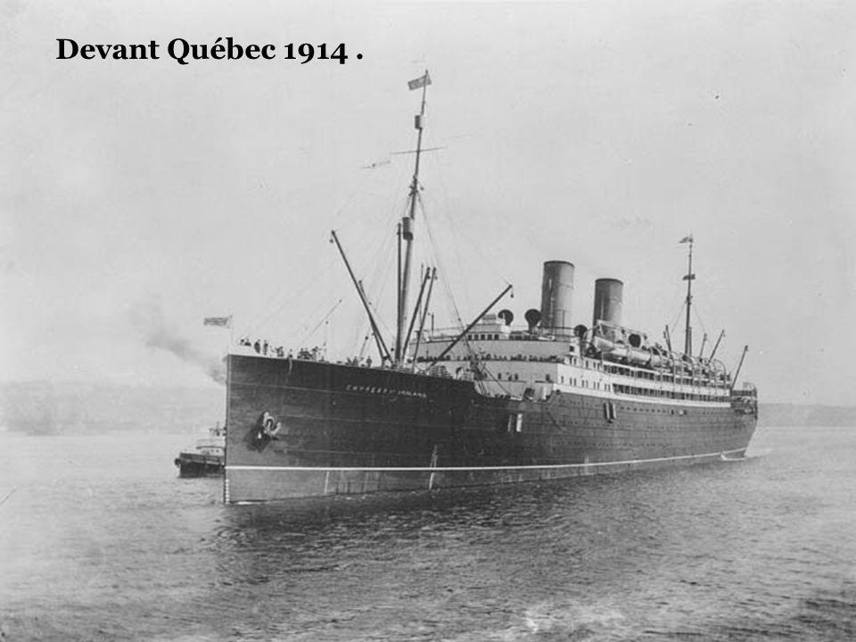 Devant Québec 1914 .
