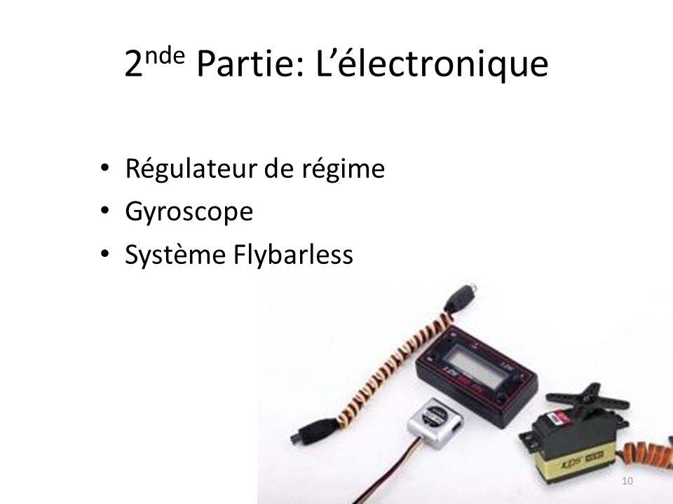 2nde Partie: L'électronique