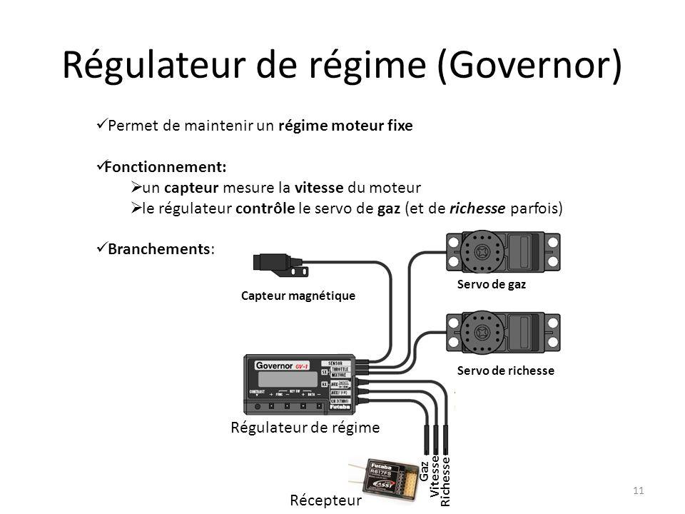 Régulateur de régime (Governor)