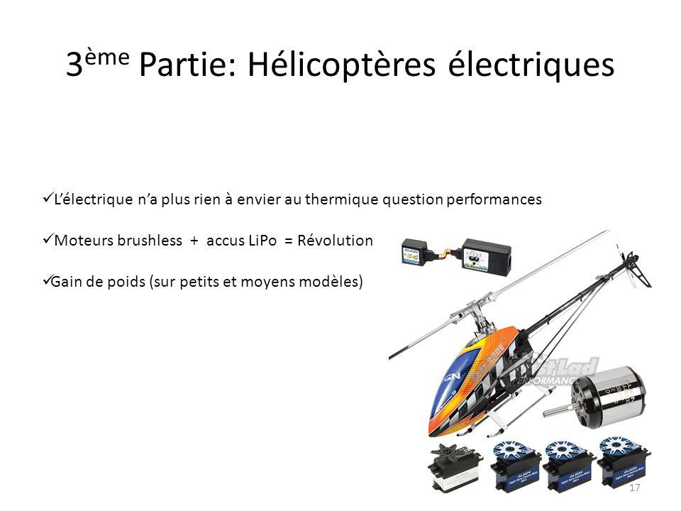 3ème Partie: Hélicoptères électriques