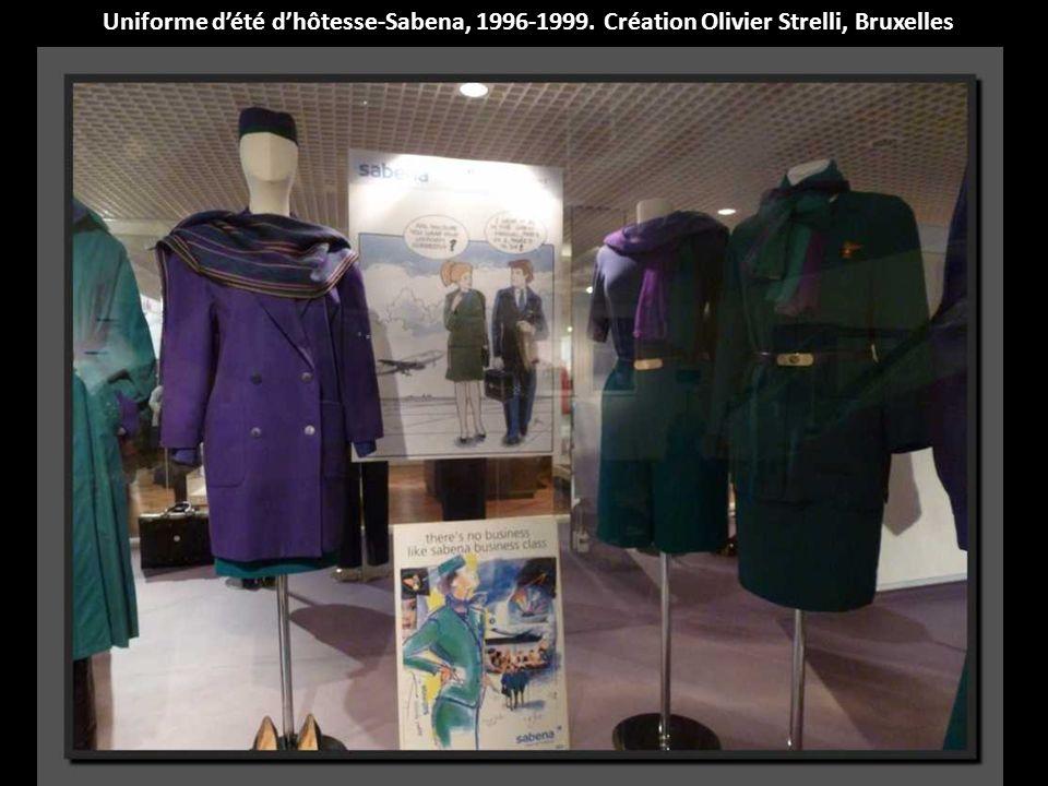 Uniforme d'été d'hôtesse-Sabena, 1996-1999
