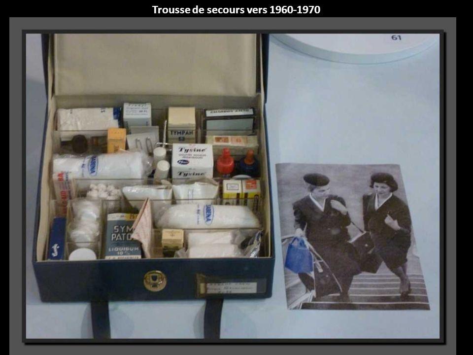 Trousse de secours vers 1960-1970