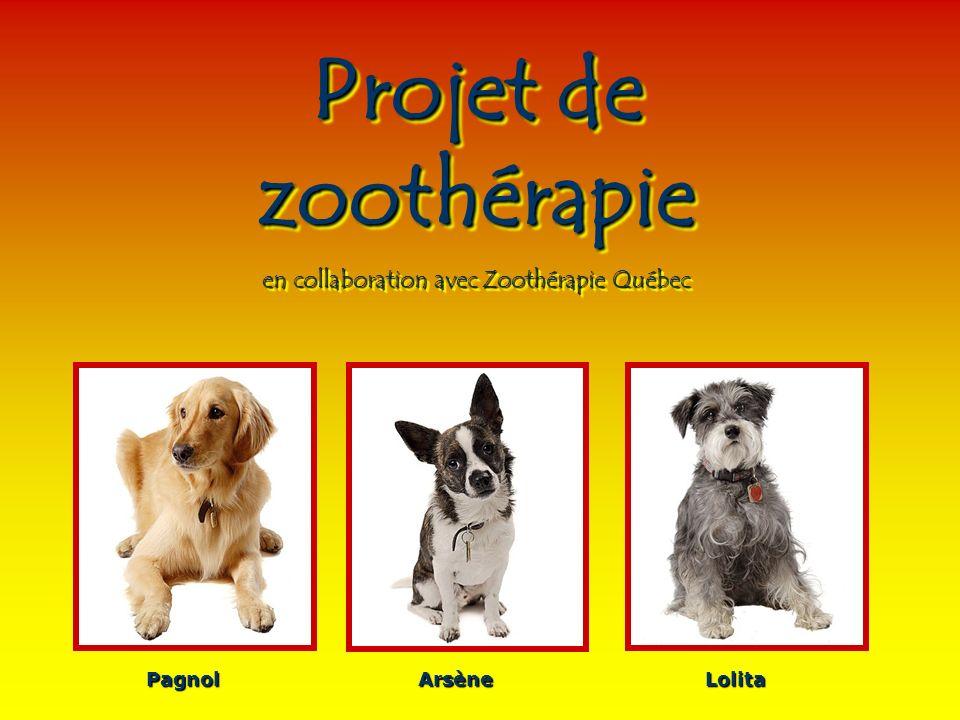 en collaboration avec Zoothérapie Québec