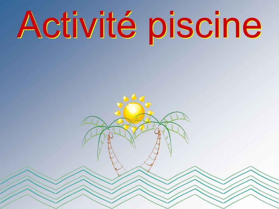 Activité piscine
