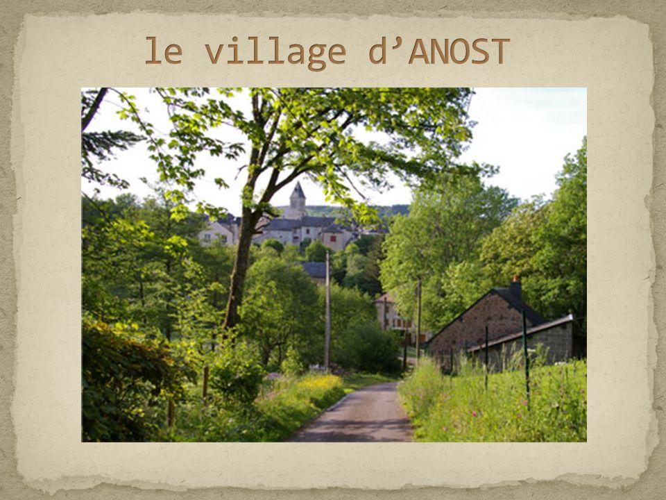 le village d'ANOST