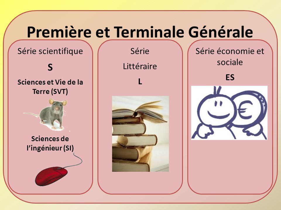 Première et Terminale Générale