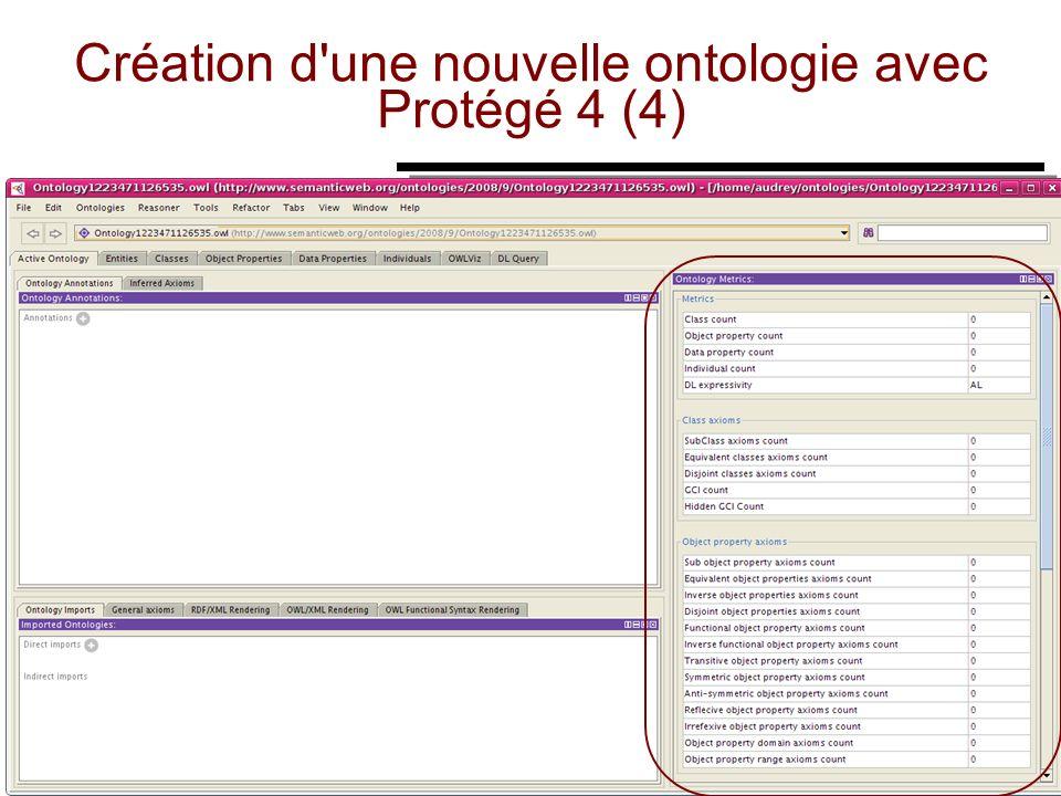 Création d une nouvelle ontologie avec Protégé 4 (4)