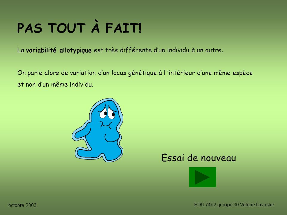 EDU 7492 groupe 30 Valérie Lavastre