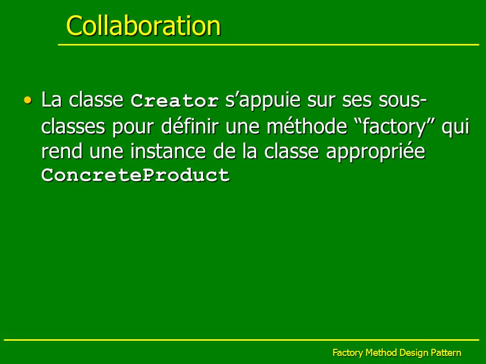 Factory Method Design Pattern