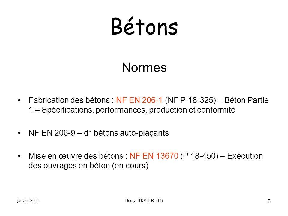 Bétons Normes. Fabrication des bétons : NF EN 206-1 (NF P 18-325) – Béton Partie 1 – Spécifications, performances, production et conformité.
