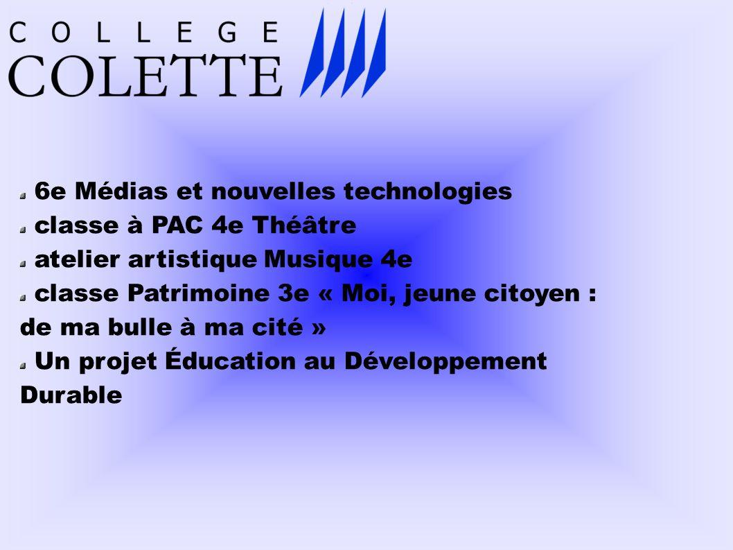 6e Médias et nouvelles technologies