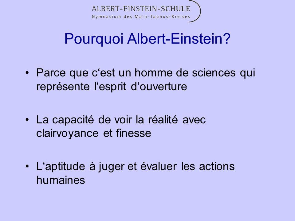 Pourquoi Albert-Einstein