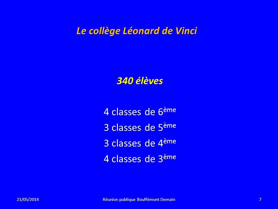 Le collège Léonard de Vinci