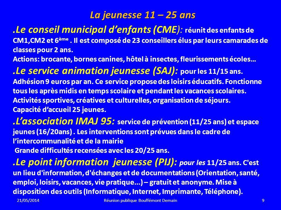 Réunion publique Bouffémont Demain