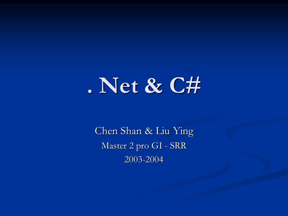 Chen Shan & Liu Ying Master 2 pro GI - SRR 2003-2004