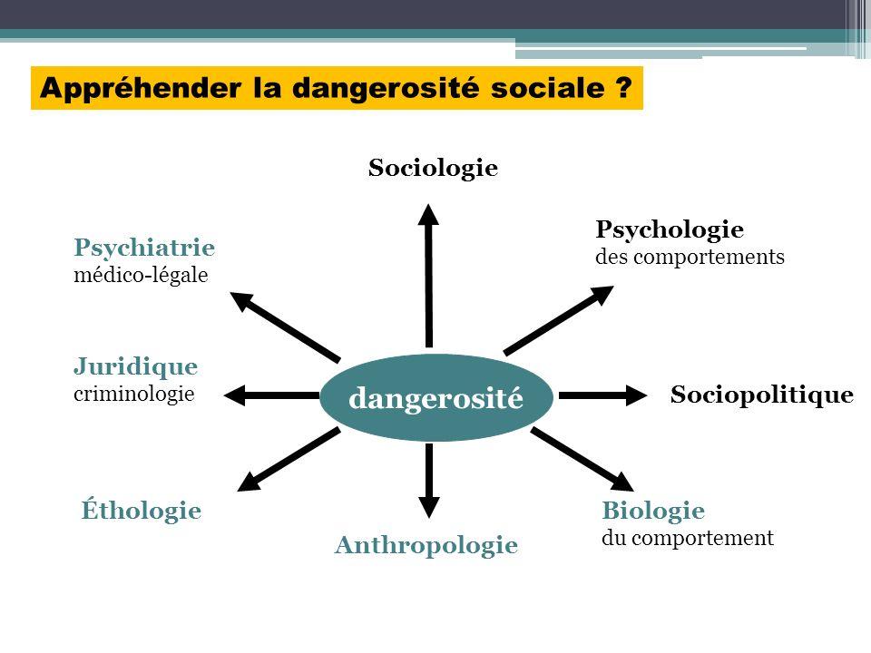 Appréhender la dangerosité sociale