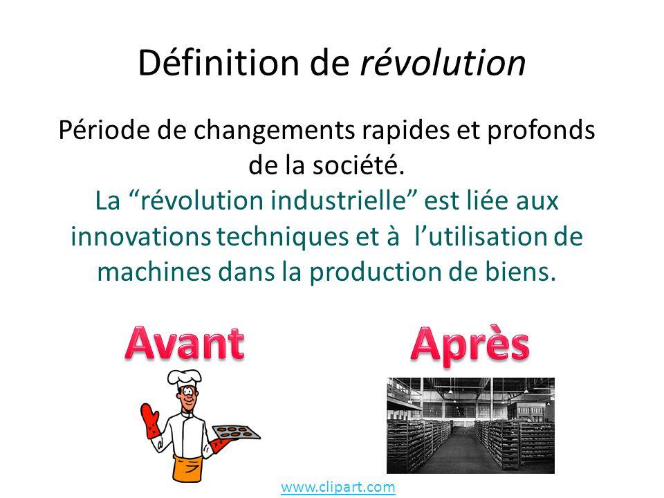 Définition de révolution