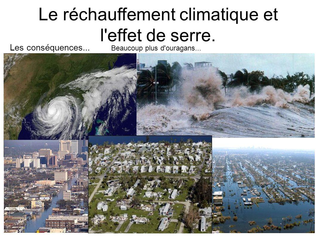 Le réchauffement climatique et l effet de serre.