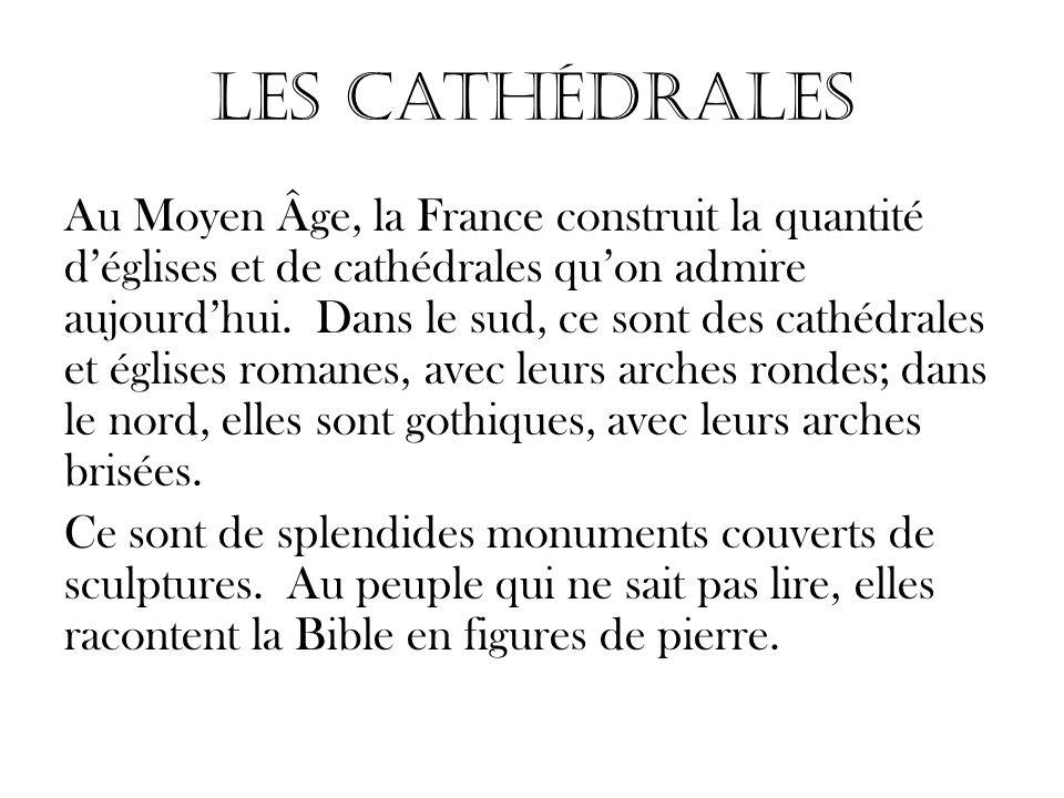 Les Cathédrales