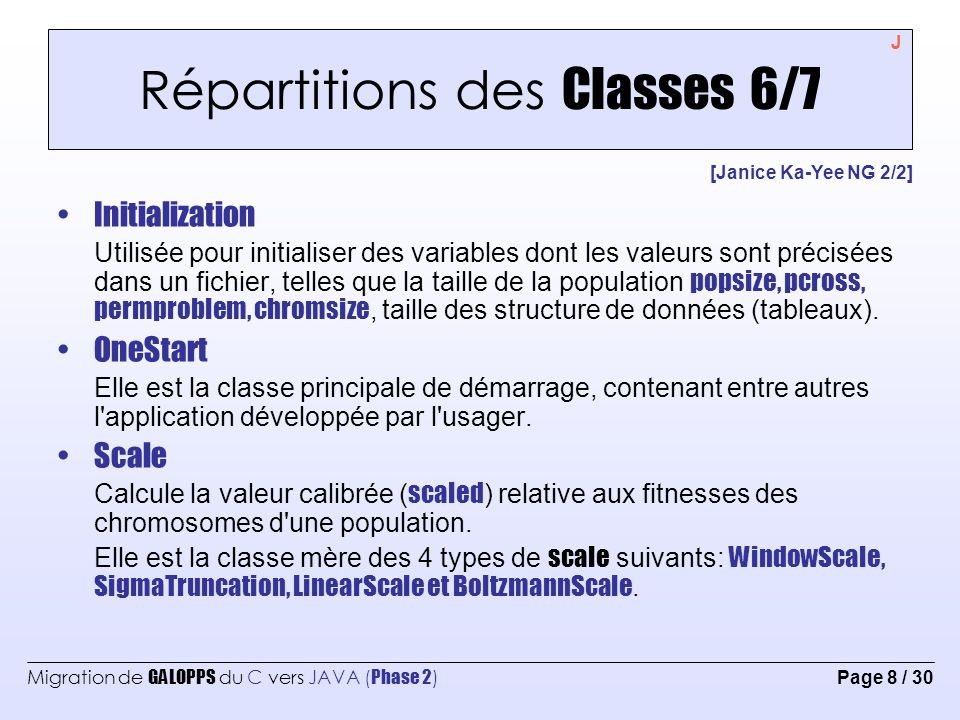 Répartitions des Classes 6/7