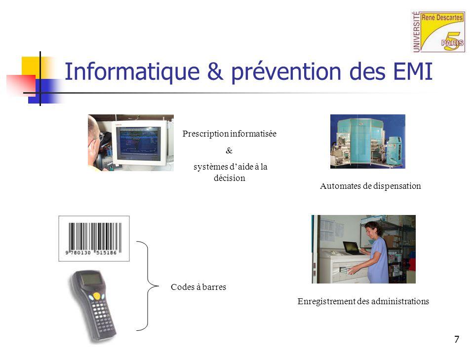 Informatique & prévention des EMI