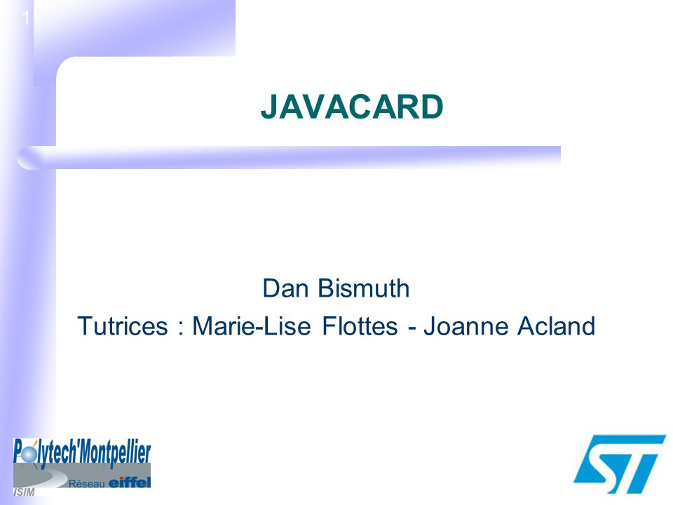 Dan Bismuth Tutrices : Marie-Lise Flottes - Joanne Acland