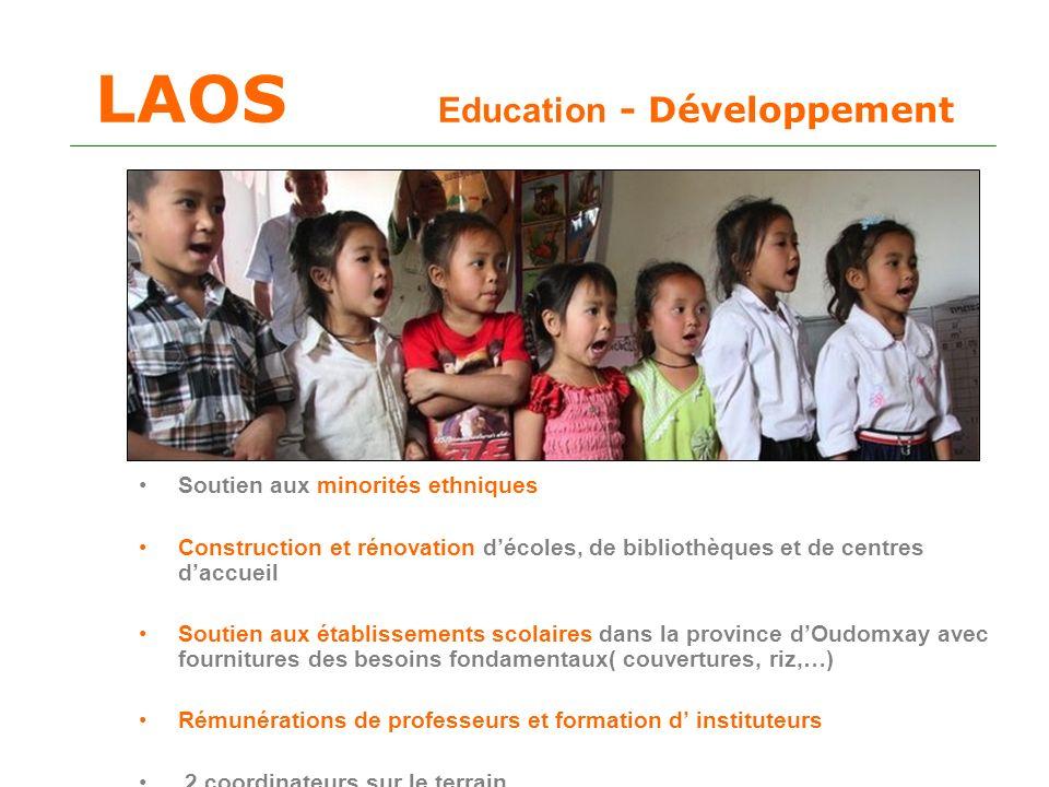 LAOS Education - Développement