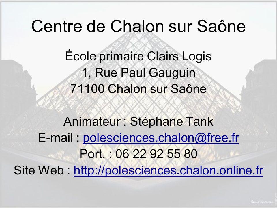 Centre de Chalon sur Saône