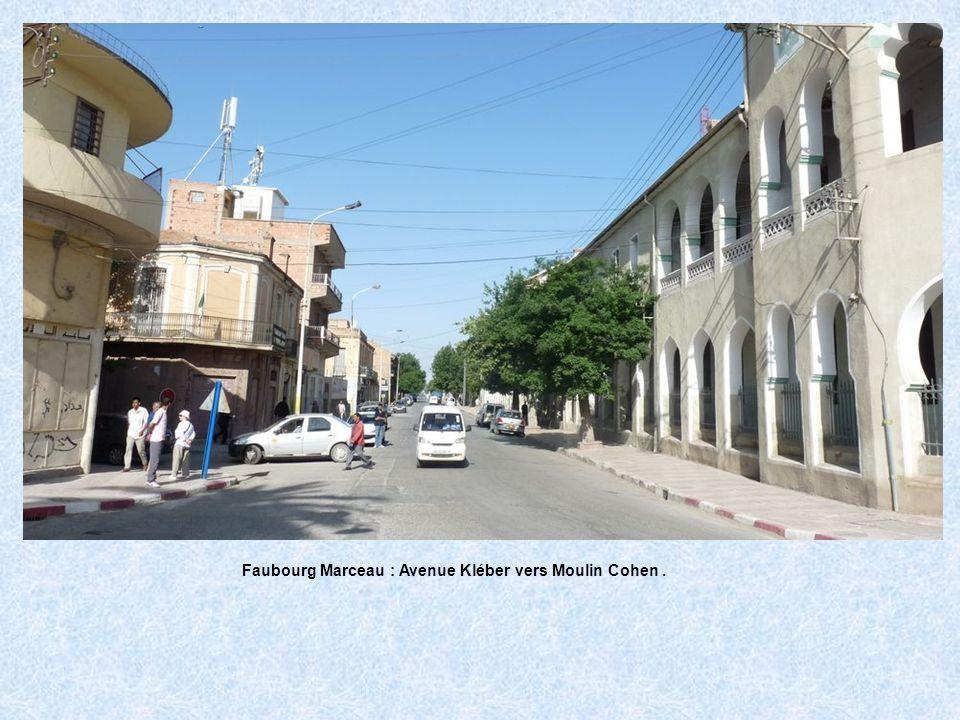 Faubourg Marceau : Avenue Kléber vers Moulin Cohen .