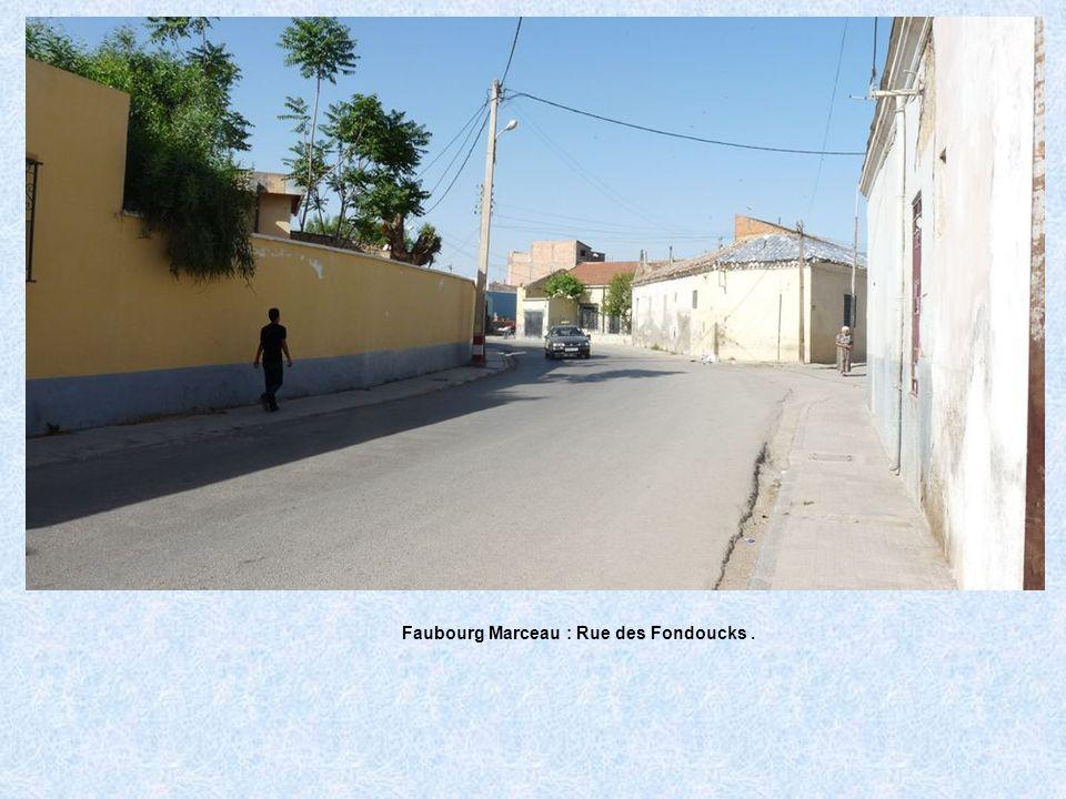 Faubourg Marceau : Rue des Fondoucks .