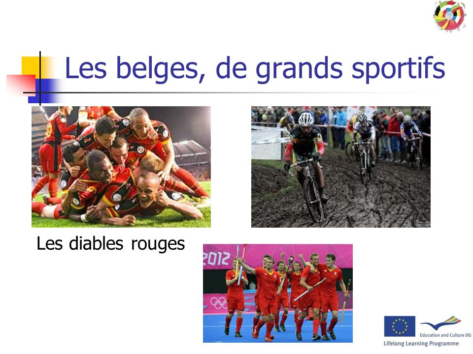 Les belges, de grands sportifs