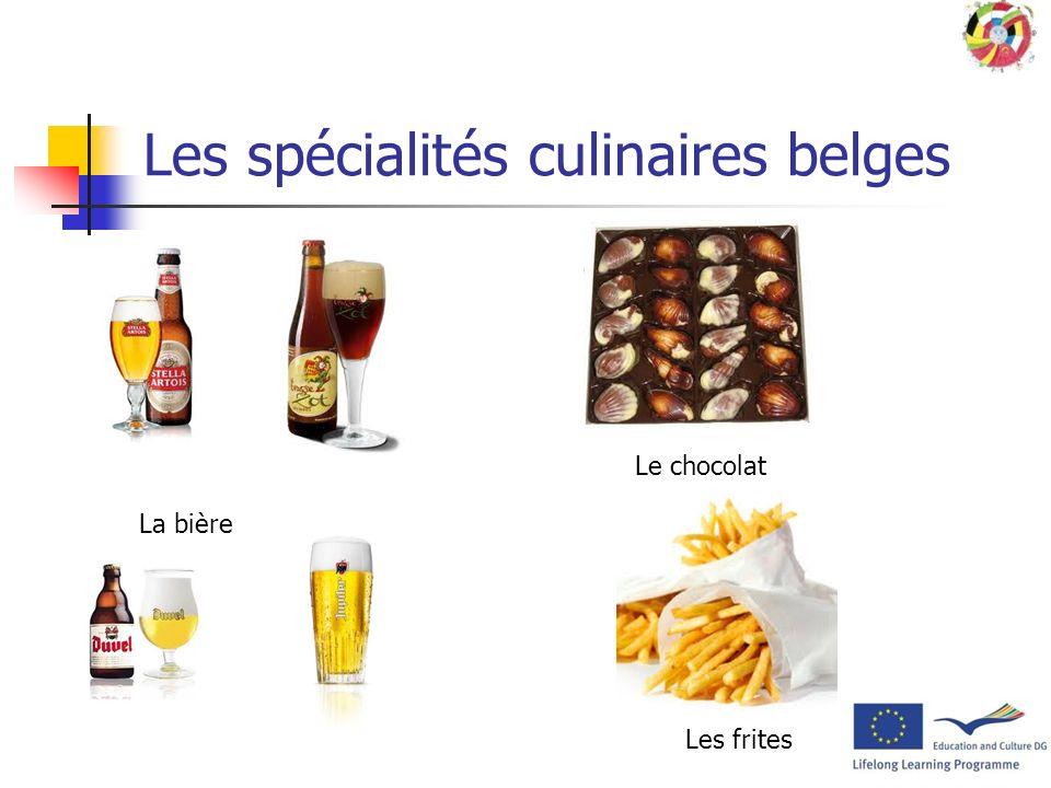 Les spécialités culinaires belges