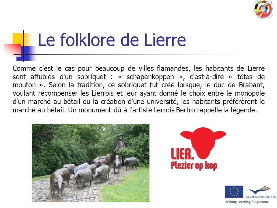 Le folklore de Lierre