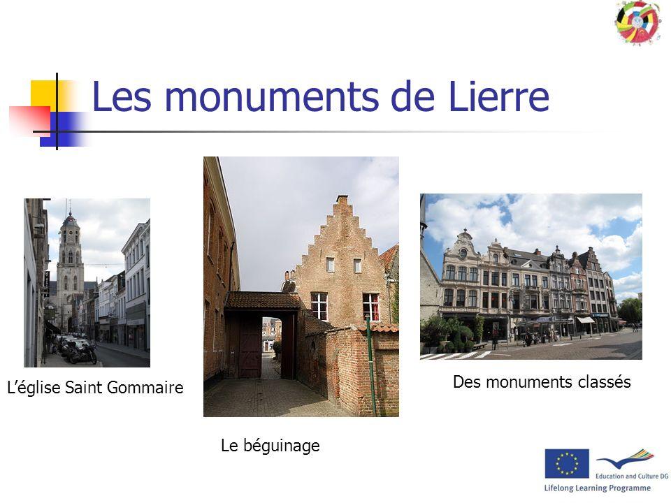 Les monuments de Lierre
