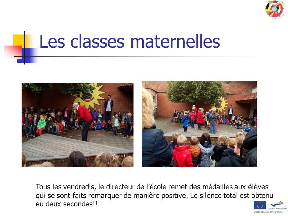 Les classes maternelles