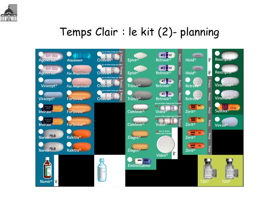 Temps Clair : le kit (2)- planning