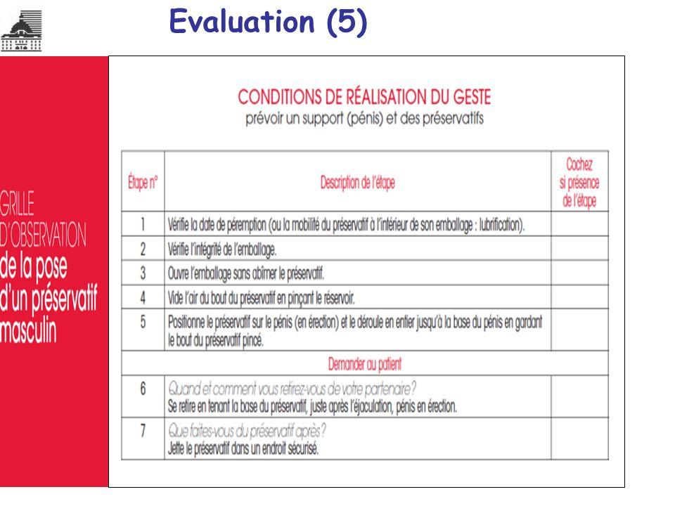 Evaluation (5)