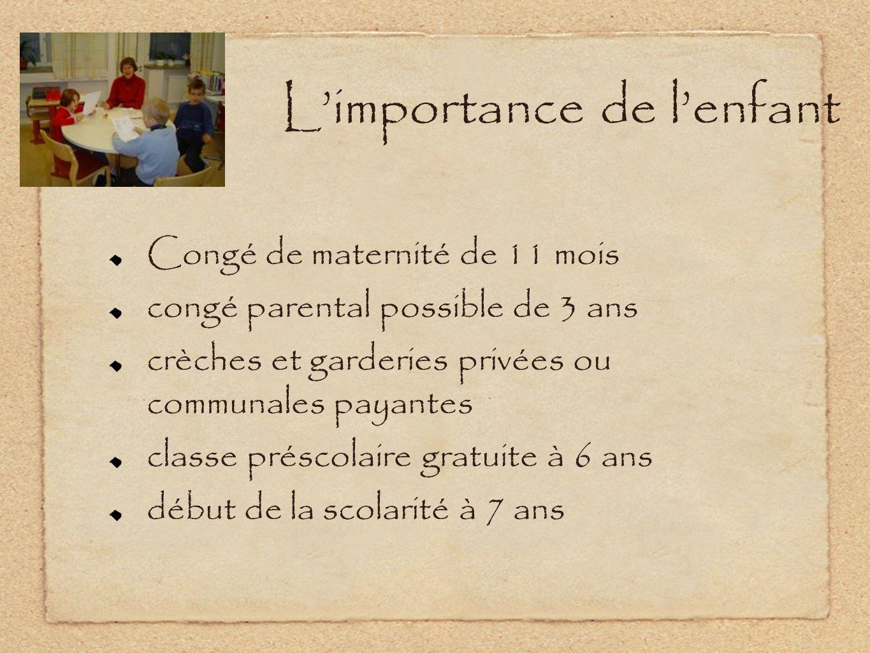 L'importance de l'enfant