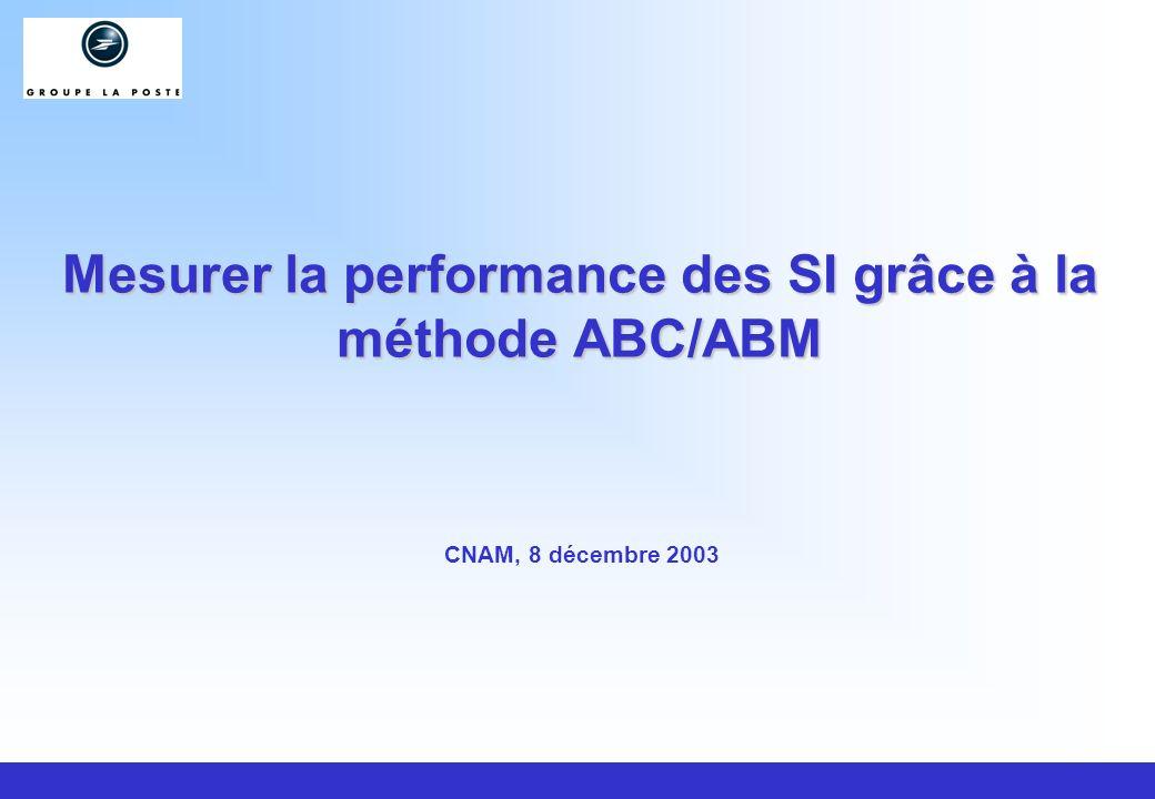 Mesurer la performance des SI grâce à la méthode ABC/ABM